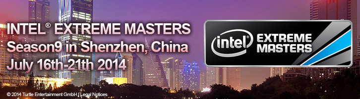 INTEL EXTREAM MASTERS SEASON9 in Shenzhen, China